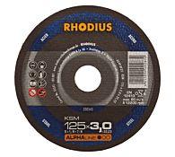 Круг отрезной по стали, прямой KSM 180 x 3,0 x 22,23, RHODIUS