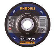Круг шлифовальный по стали RS2 115x7,0x22,23 мм, RHODIUS