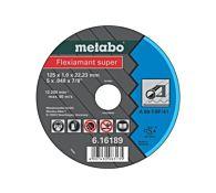 Круг отрезной прямой 230x3,0х22,23 мм Flexiamant, METABO