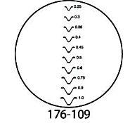 Вставка визирная для микроскопа TM-500, 176-135, MITUTOYO