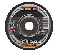 Круг отрезной по алюминию прямой FT24 180 x 2,5 x 22,23, RHODIUS