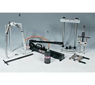 UEC: Комплект гидравлических съемников UEC20, 20 т, EUROPRESS