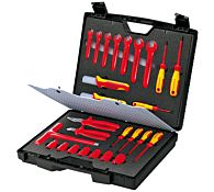 Набор инструментов VDE 26 предметов, kn-989912 KNIPEX