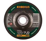 Круг шлифовальный по камню RS66 180x7,0x22,23 мм, RHODIUS