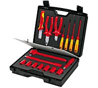 Набор инструментов VDE 17 предметов, kn-989911 KNIPEX