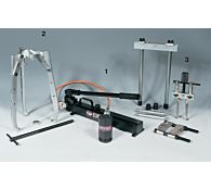 UEC: Комплект гидравлических съемников UEC30, 30 т, EUROPRESS