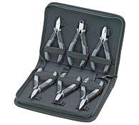 Набор губцевых инструментов для электроники, 6 предметов, kn-002017, KNIPEX