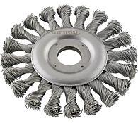 Щетка дисковая стальная 178 мм, FORMAT