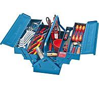 Набор диэлектрического инструмента электрика 40 предметов, FORMAT