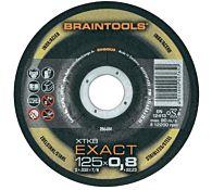 Круг отрезной INOX прямой XTK8 EXACT 125 x 0,8 x 22,23, RHODIUS