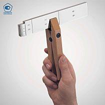 Мера длины концевая стальная 4,5 мм, тип 417/1, MAHR