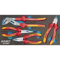 Набор губцевых диэлектрических инструментов 4 предмета тип 163-226, HAZET