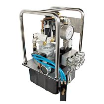 Гидростанция 4-х портовая с пневматическим приводом без шланга 2,94 кВт, NAP11-QP NORGAU