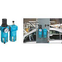 Блок фильтра-маслораспылителя с регулятором давления 9070-4