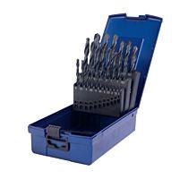 Набор сверл 1-10x0,5 - 19 шт. HSS Typ N DIN338