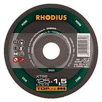 Круг отрезной по камню прямой XT66 180 x 1,9 x 22,23, RHODIUS