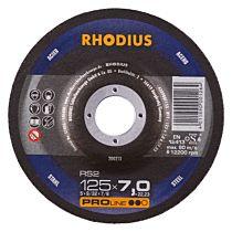 Круг шлифовальный по стали RS2 125x7,0x22,23 мм, RHODIUS