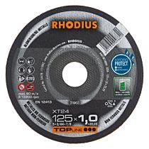 Круг отрезной по алюминию прямой XT24 180 x 1,5 x 22,23, RHODIUS