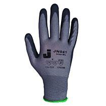 Перчатки нейлоновые с пенонитриловым покрытием, р. 9/L, JN041