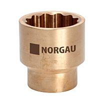Головка торцевая искробезопасная 1/4'', 6 мм, тип  ND20-4NSB NORGAU