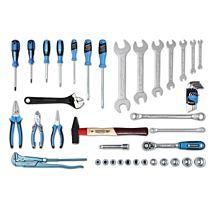 Набор слесарного инструмента, 45 предметов, NS-1045, NORGAU