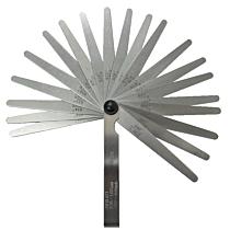 Щупы толщины 0,05-2,00 мм (21 штука), Norgau