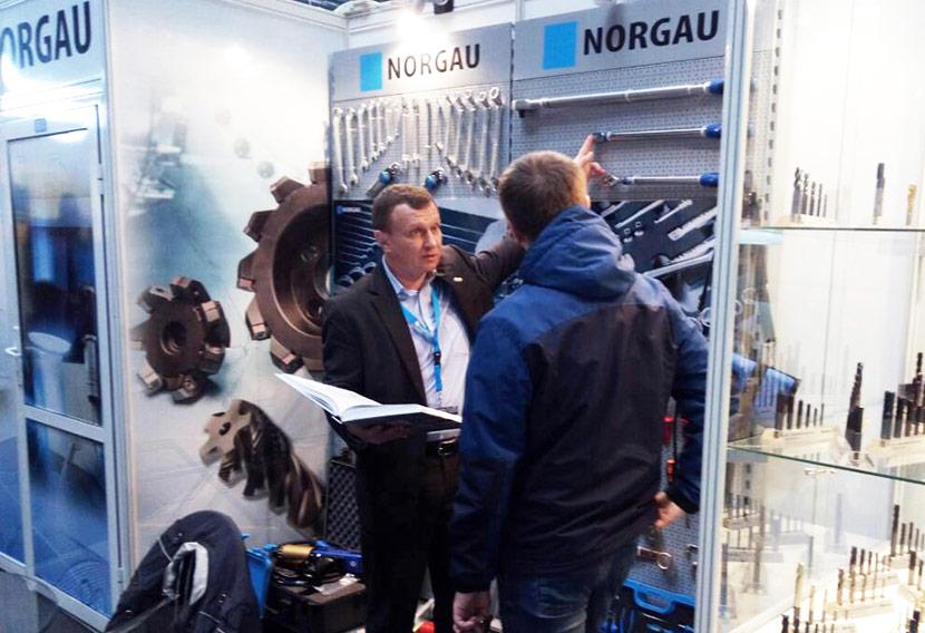 Норгау участвует в выставке в Минске 2019